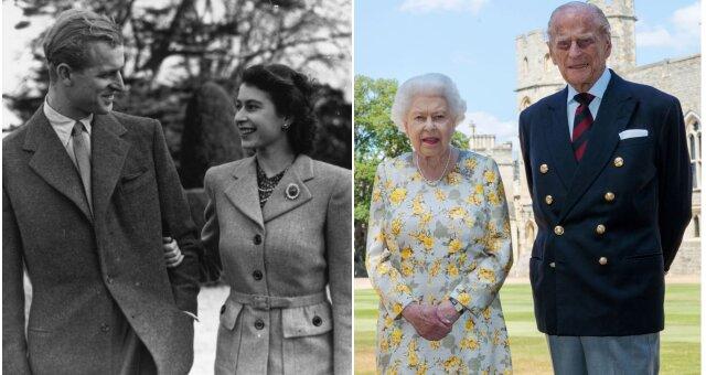 История любви, королева Елизавета ІІ, принц Филипп