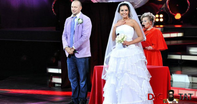 Настя Каменских, Потап свадьба