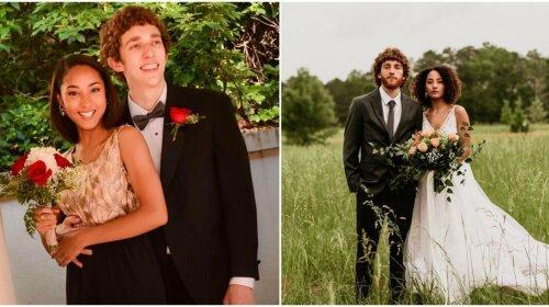 Пары, которые сохранили любовь со школьной скамьи: фото до и после