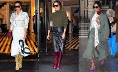 Самые модные юбки осени, которые обожает носить Виктория Бекхэм: инструкция к применению