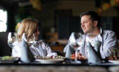 В самых модных трендах: Елена и Владимир Зеленские поужинали с Милой Кунис и Эштоном Катчером (фото)