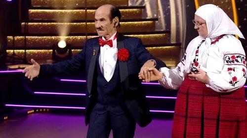 "Пока молодая жена не видит: Григорий Чапкис пустился в пляс с мамой Сердючки на ""Танцях з зірками"" (видео)"
