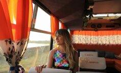 Леся Никитюк променяла авто на маршрутку: 5 интересных фактов о новом «транспорте»