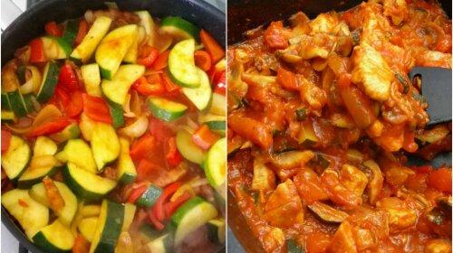 Поки сезон кабачків у розпалі: чудове овочеве рагу з куркою і грибами на обід