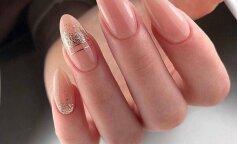 Модные рисунки на длинные ногти
