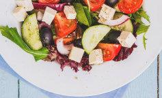 Греческий салат: рецепты с фетаксой, фетой и брынзой