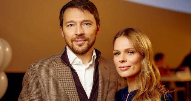 Ольга Фреймут с мужем Владимиром Локотко