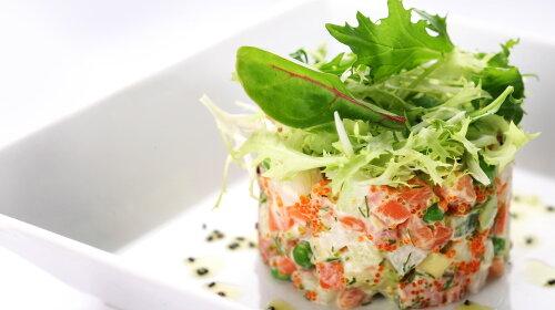 Олів'є-лайт з червоною рибою: ексклюзивний рецепт новорічного салату від дієтолога Лори Філіппової