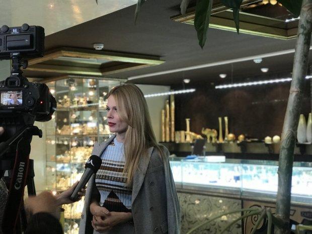 Ольга Фреймут на пресс-конференции в честь 20-летияZARINA