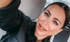 Поїхала до Лазареву: Ані Лорак в брючному костюмі і в шикарних туфлях на вихідні вирушила у подорож