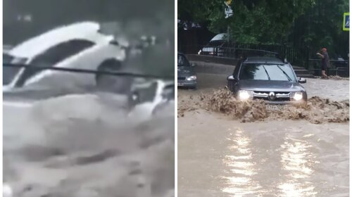Природный апокалипсис: Ялта ушла под воду из-за сильных дождей (ФОТО, ВИДЕО)