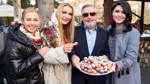 Сумская, Бучинская, Павлик, Мерзоян и другие звезды провели Рождество в Карпатах: фото из отпуска и кулинарные соревнования