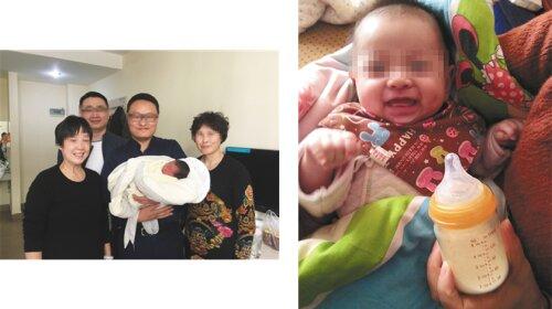 «сладки» мальчик родился спустя 4 года после смерти родителей