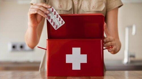Уляна Супрун назвала 10 засобів, які повинні бути в кожній аптечці