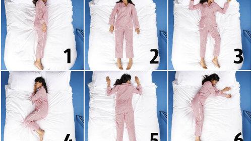 Быстрый тест: поза для сна многое расскажет про характер