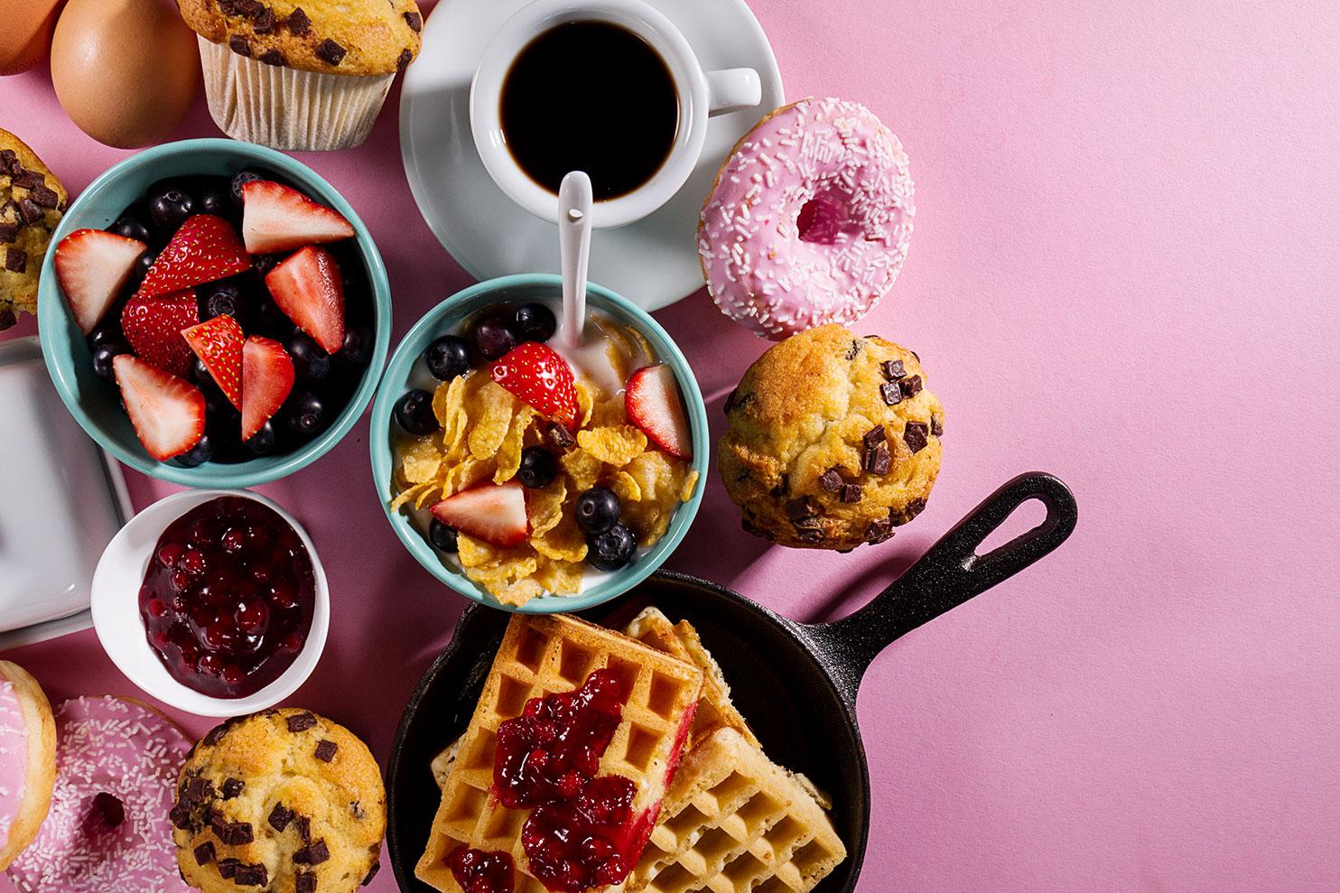 Картинки с добрым утром вкусные завтраки
