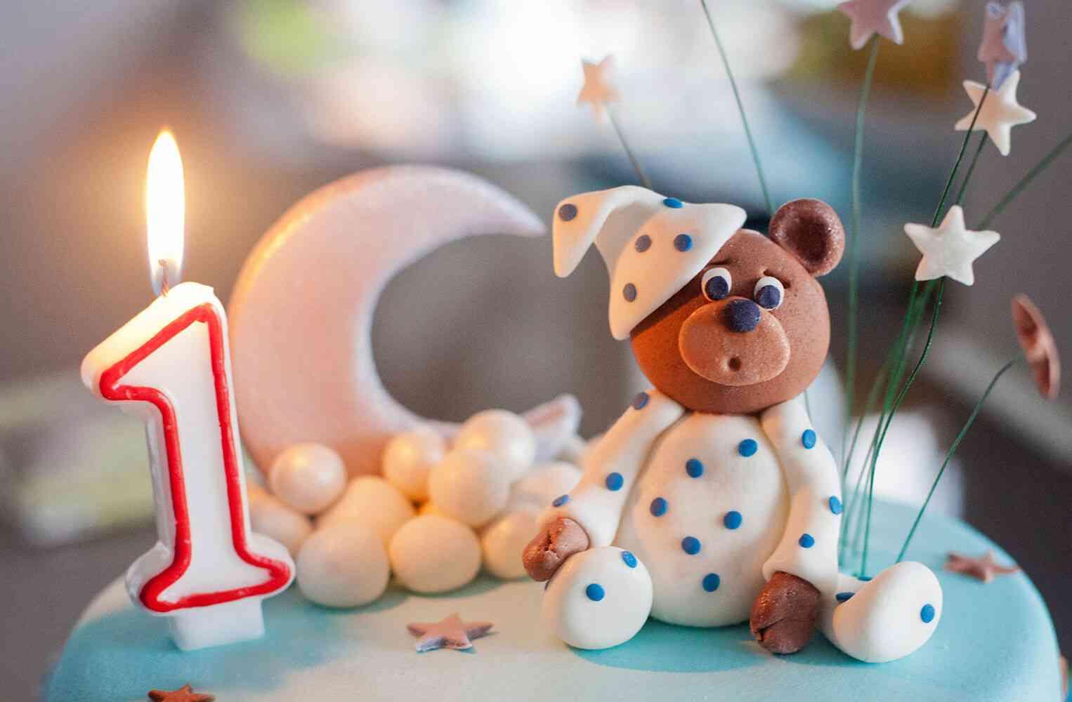 Картинки с днем рождения ребенка 1 год родителям
