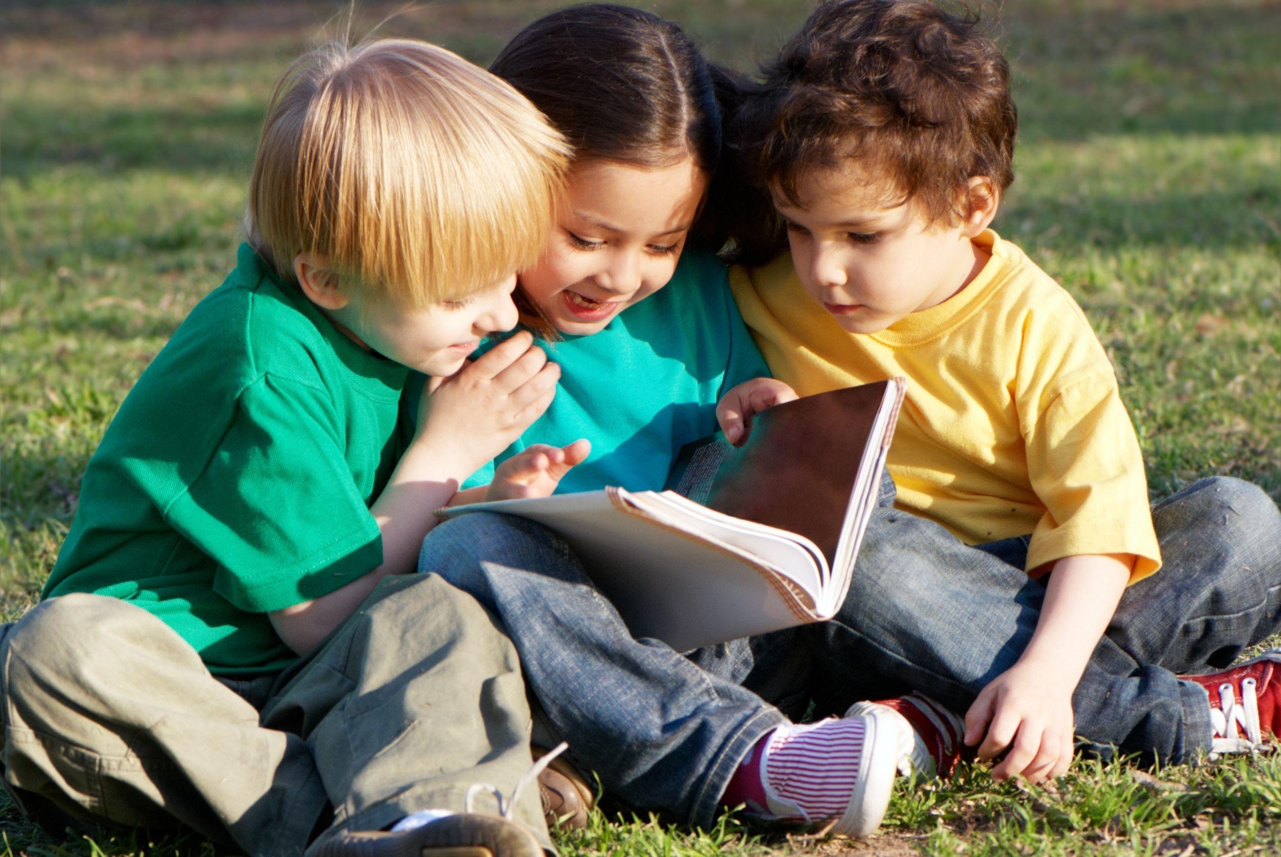 Дети-друзья в картинках