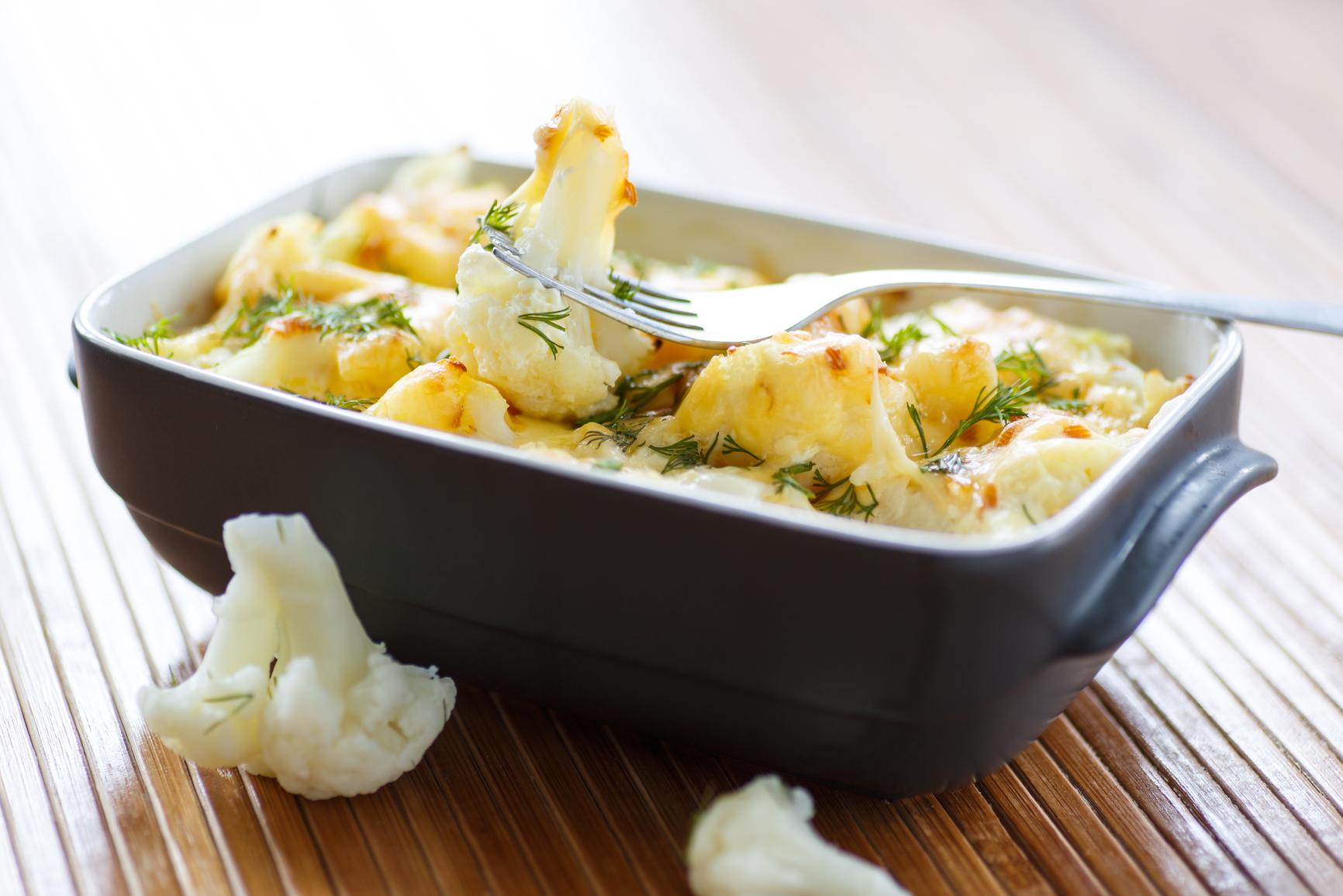 Рецепты блюд из цветной капусты при диете