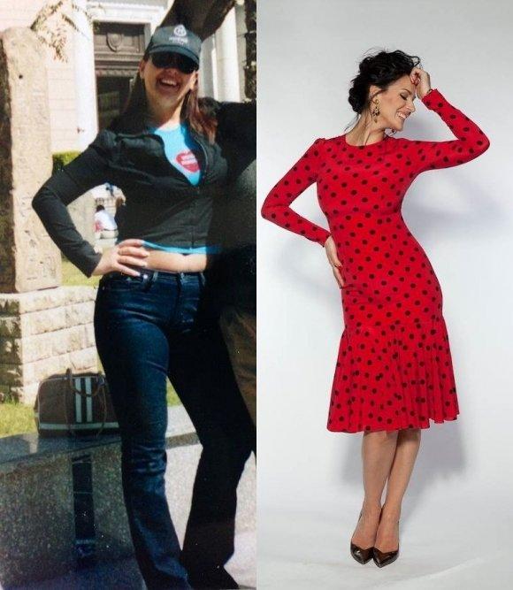 маша ефросинина до и после похудения