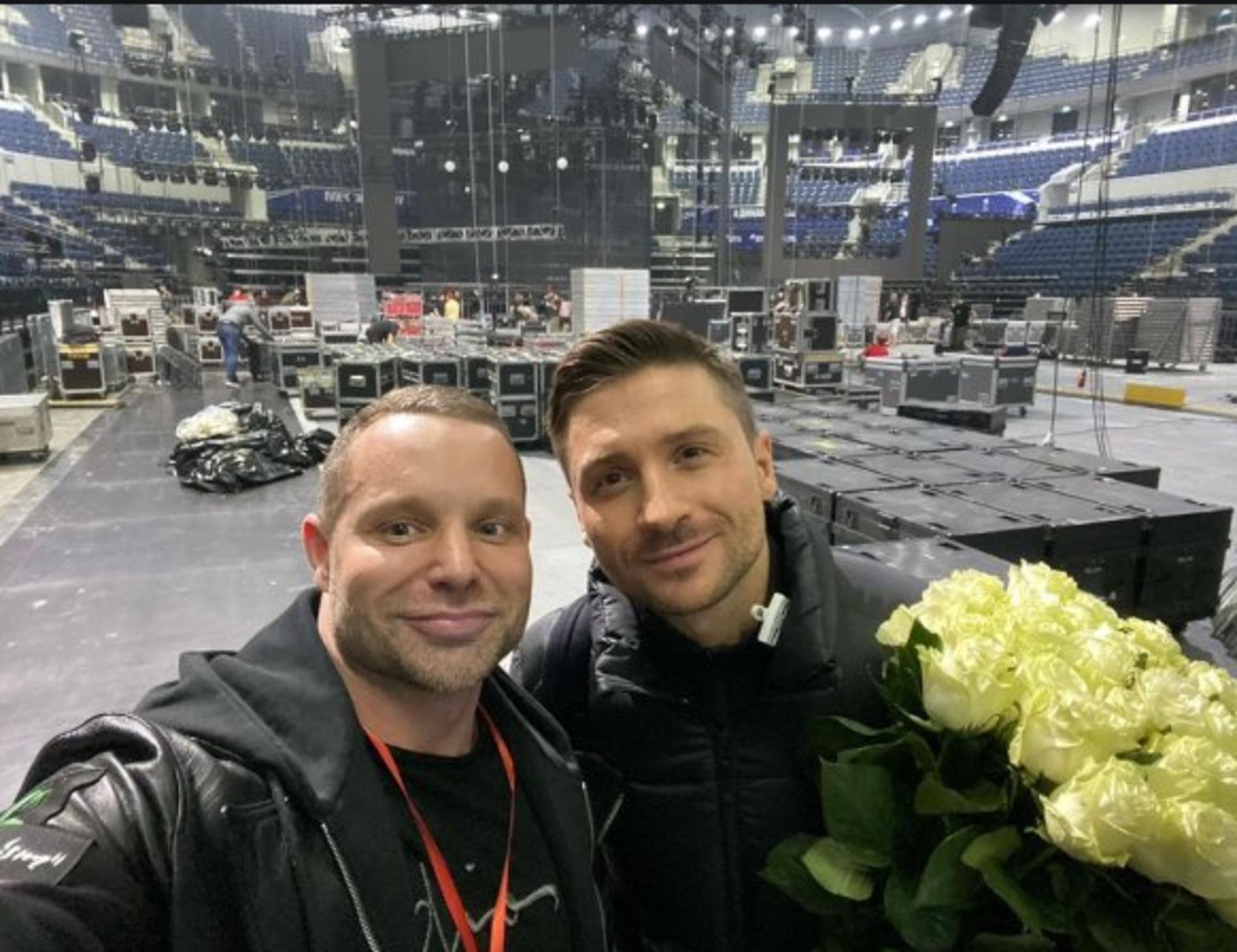 Лазарев с любовниками фото